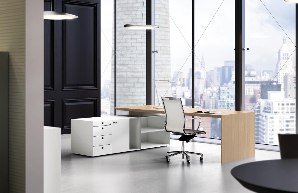 Mobiliario de oficina en barcelona adeyaka bcn for Muebles de oficina italianos