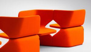 Offecct Barcelona, butacas de diseño y paneles acústicos en Barcelona