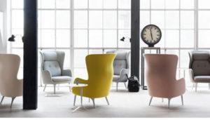 Jaime Hayón ha diseñado un sillón llamado Ro ™ para Republic of Fritz Hansen
