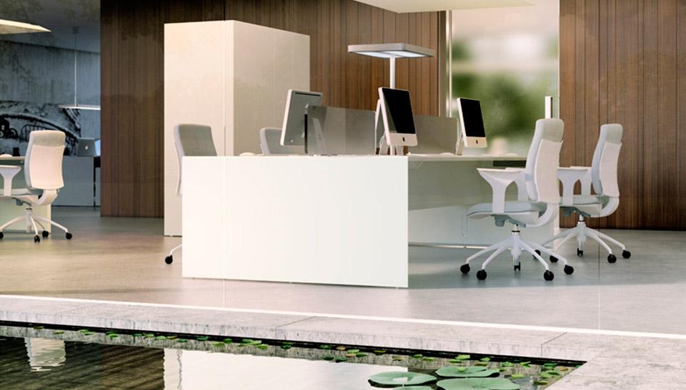 Quaranta5 muebles de oficina Fantoni