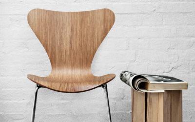 Silla Serie 7 de Arne Jacobsen para Fritz Hansen