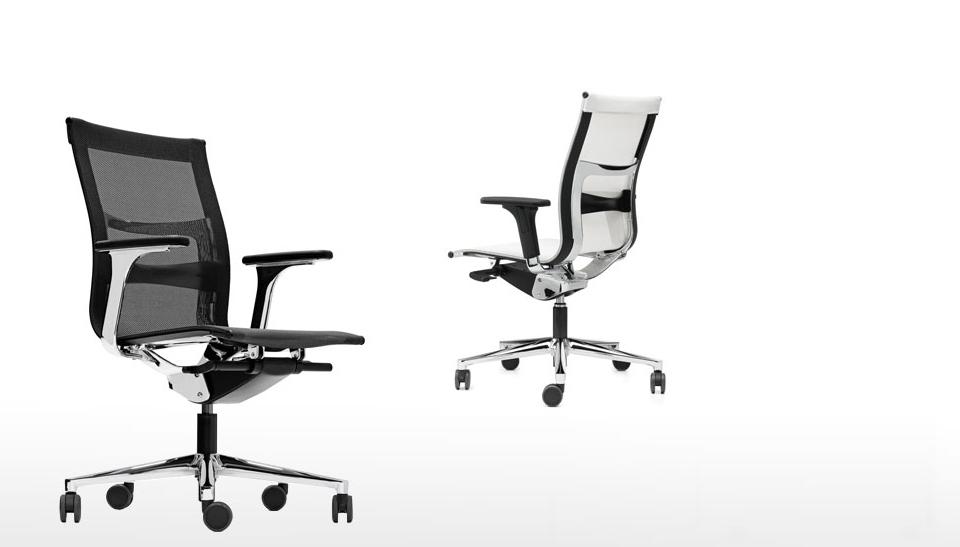 Silla de oficina ergonomica una plus de icf barcelona 1 for Sillas oficina ergonomicas barcelona