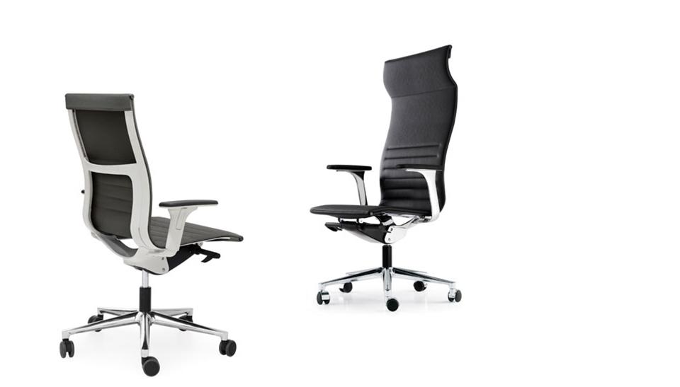 Silla de oficina ergonomica una plus de icf barcelona 2 for Sillas oficina ergonomicas barcelona