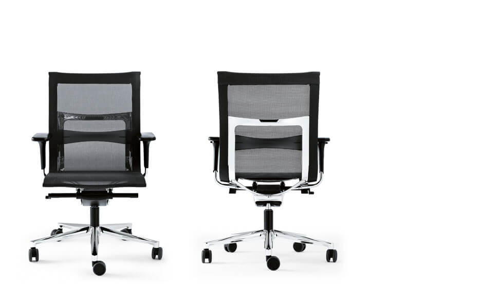 Silla de oficina ergonomica una plus de icf barcelona 4 for Sillas oficina ergonomicas barcelona