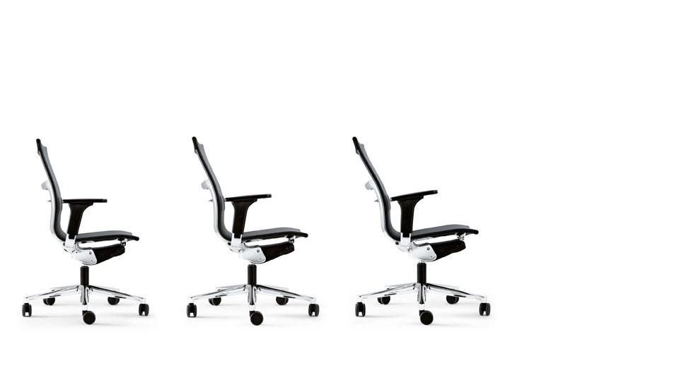 Silla de oficina ergonomica una plus de icf barcelona 5 for Sillas oficina ergonomicas barcelona