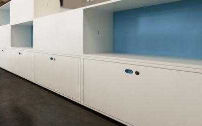 Dot Box nuevo sistema de armarios de Dieffebi