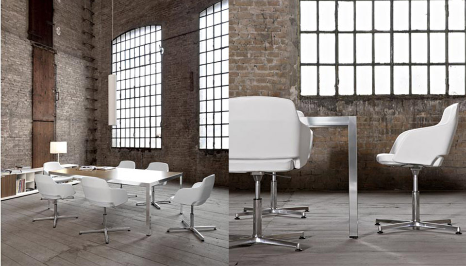 Mobiliario de oficina sinetica en barcelona mesas frame 1 for Mobiliario oficina barcelona