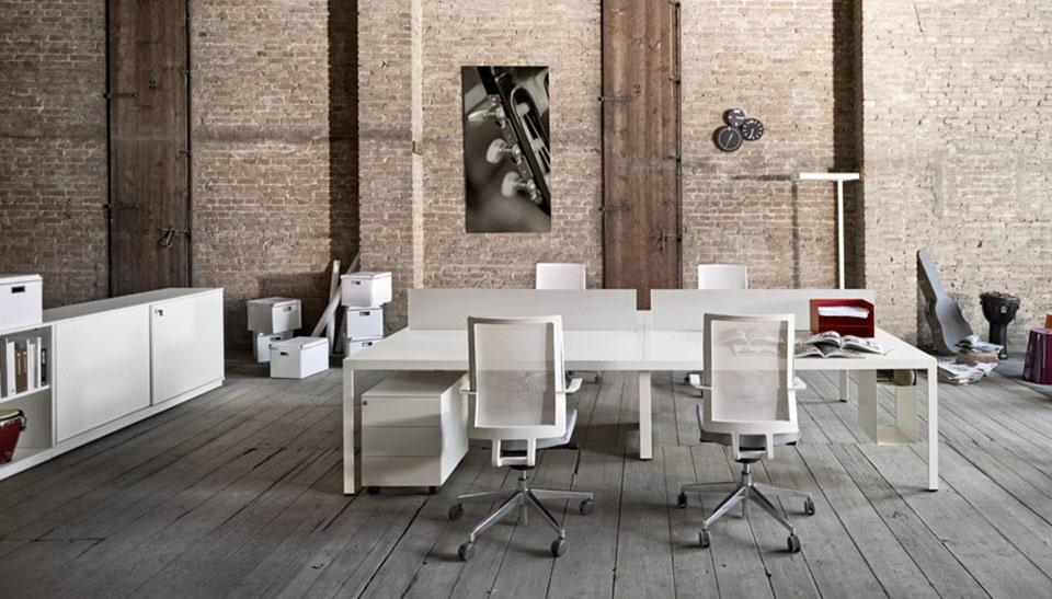 Mobiliario de oficina sinetica en barcelona mesas frame 3 for Mesas de oficina barcelona