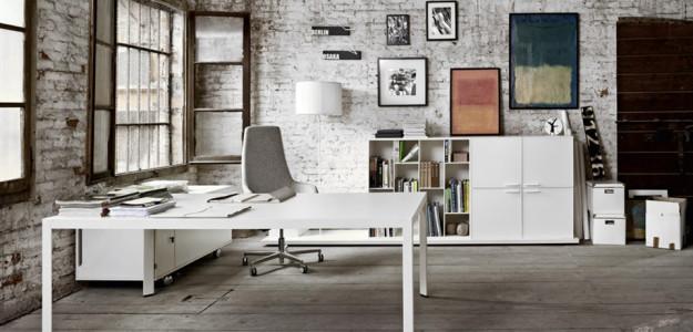 Sistema de mesas de oficina frame de sinetica adeyaka bcn for Mesas de oficina barcelona