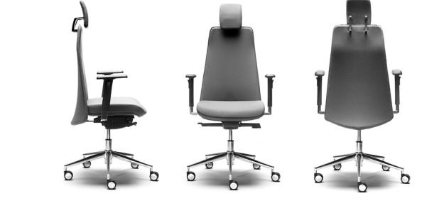 Silla ergonomica de oficina yna de benjo seating adeyaka bcn for Sillas oficina barcelona