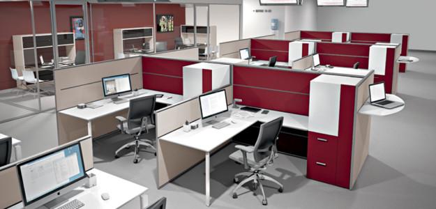 Muebles de oficina anyware martex dise o italiano y for Muebles oficina barcelona