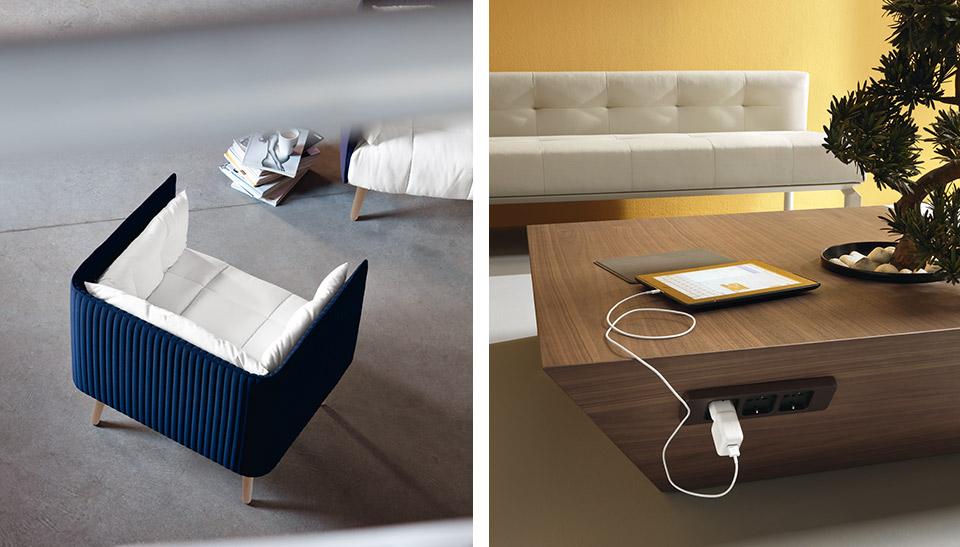 Mostradores y muebles de recepcion mobiliario de oficina for Mobiliario recepcion oficina