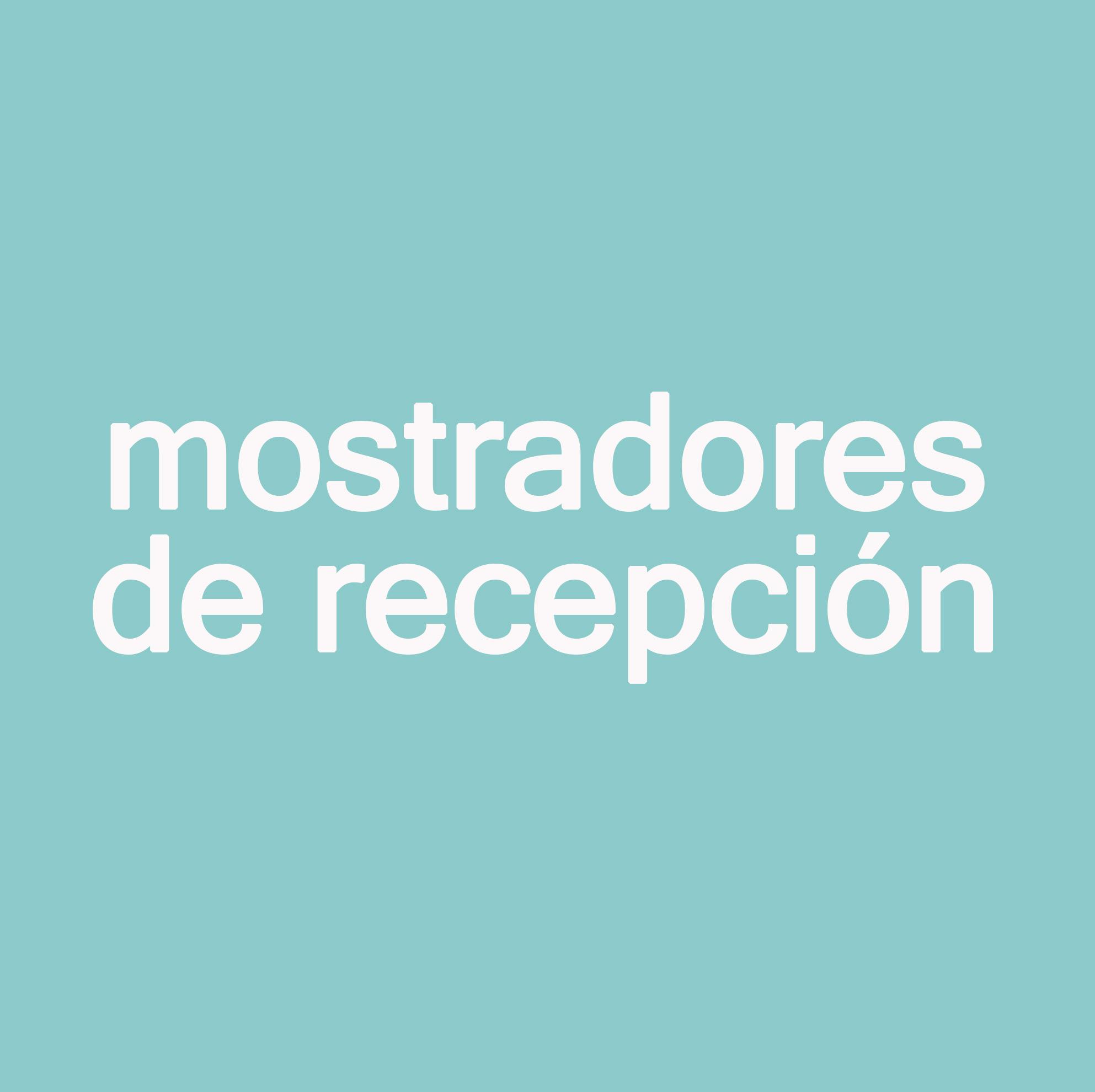 Mostradores de recepcion para oficinas en barcelona - Mostradores para oficinas ...