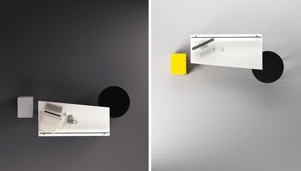 Mobiliario de oficina barcelona dise o meta fantoni 4 for Mobiliario oficina barcelona