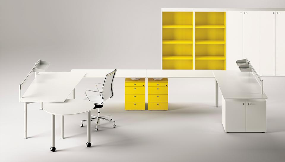 Mobiliario de oficina barcelona dise o meta fantoni 5 for Mobiliario oficina barcelona