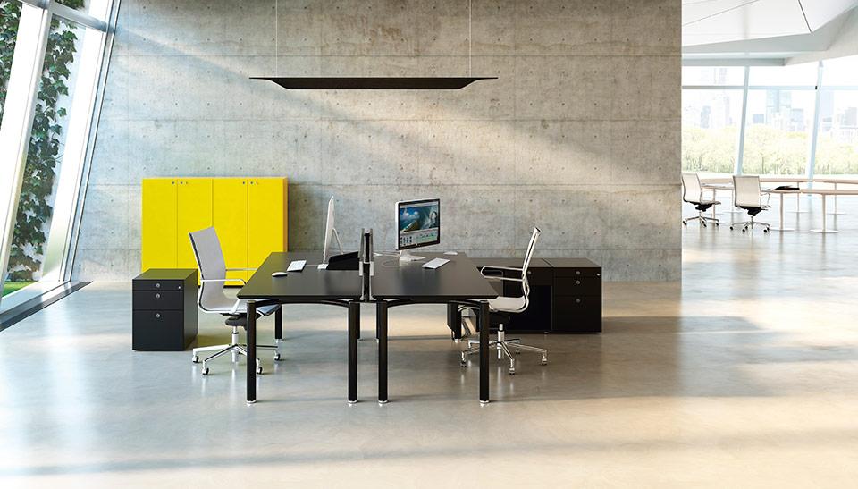 Mobiliario de oficina barcelona dise o meta fantoni 9 for Mobiliario oficina barcelona