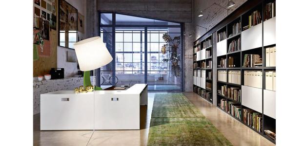 Muebles de oficina de alto standing vogue de sinetica for Mobiliario oficina barcelona