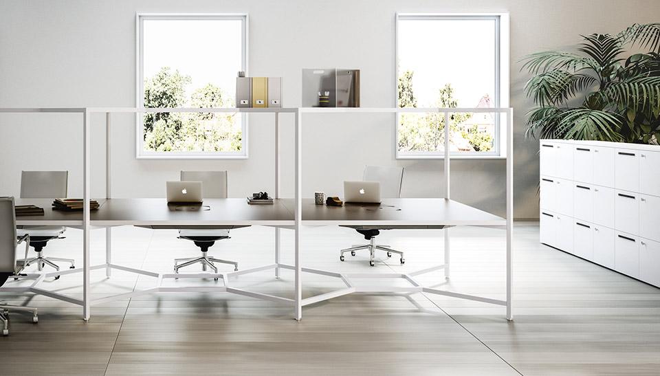 Muebles de oficina hub de fantoni en adeyaka barcelona 1 for Muebles oficina barcelona