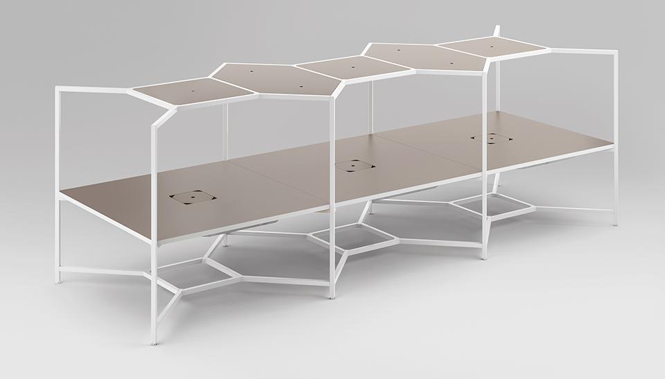 Muebles de oficina hub de fantoni en adeyaka barcelona 15 for Muebles oficina barcelona
