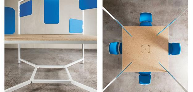 Muebles de oficina HUB de Fantoni: Trabajar conectado ...