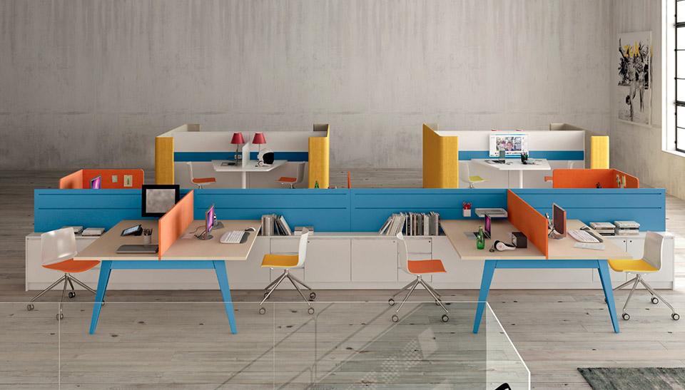 Muebles de oficina barcelona mobiliario martez pigreco6 for Muebles oficina barcelona