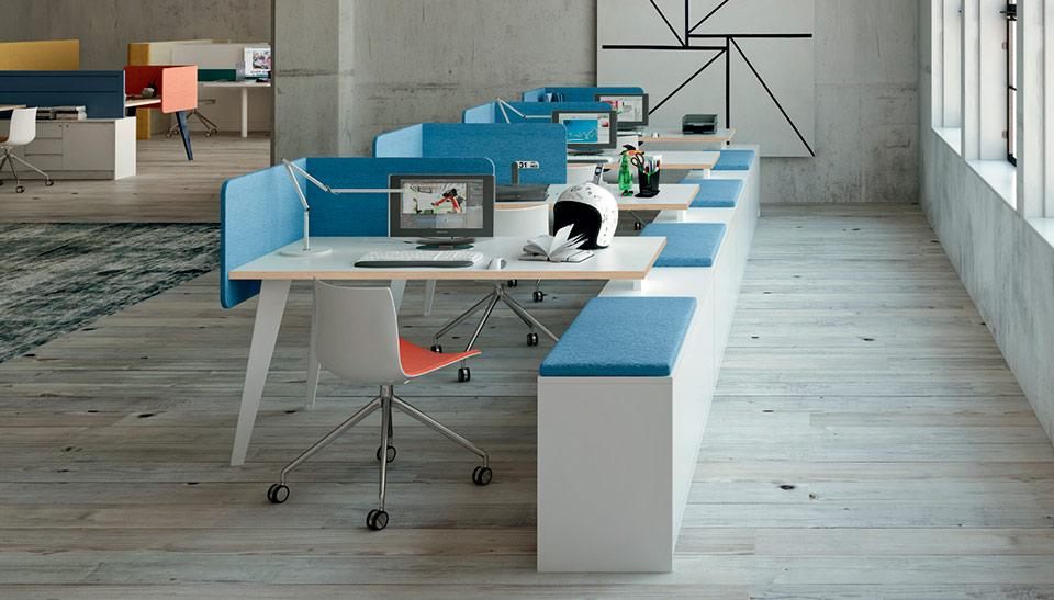 Nuevo Sistema de mobiliario PIGRECO de Martex