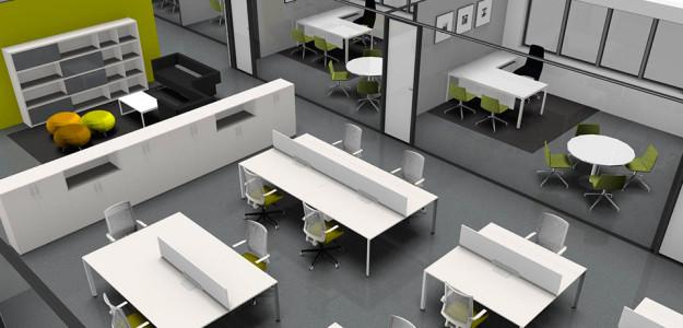 Dise o y reformas integrales de oficinas en barcelona for Planos de oficinas administrativas