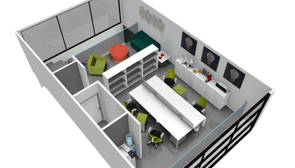 Proyectos y reformas de oficinas en barcelona 2 adeyaka bcn for Reformas oficinas barcelona