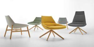 Butacas, sillones y sofas Dunas Inclass Adeyaka Barcelona