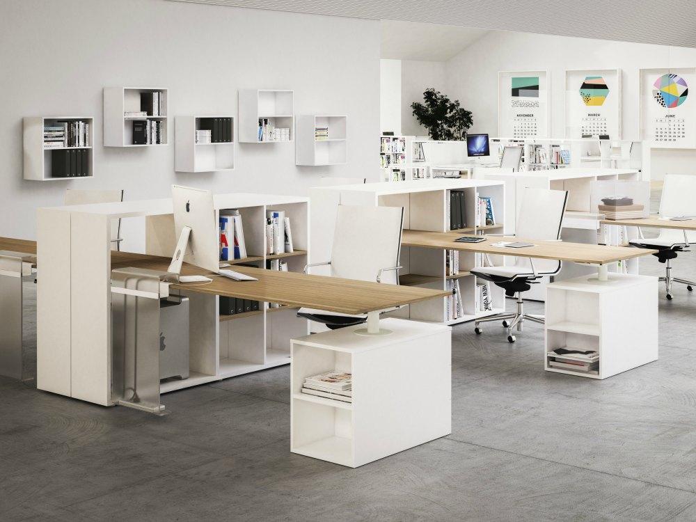 mobiliario de oficina fantoni framework adeyaka barcelona