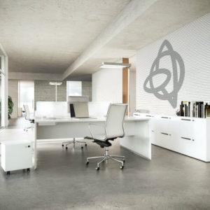 Mobiliario de oficina Fantoni Quaranta5 Adeyaka Barcelona