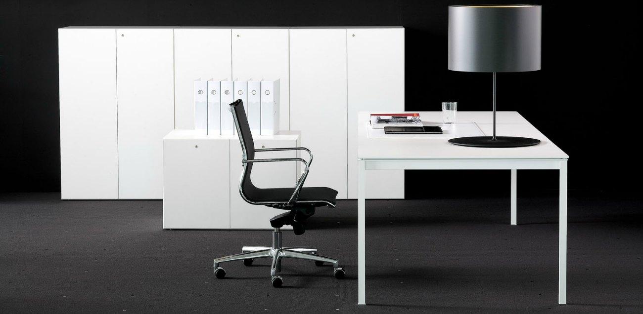 Muebles de oficina alta direccion bianco nero fantoni for Muebles de oficina barcelona