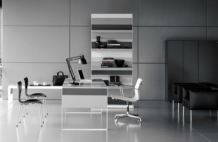 Muebles de oficina alta direccion stripes fantoni adeyaka for Muebles oficina barcelona