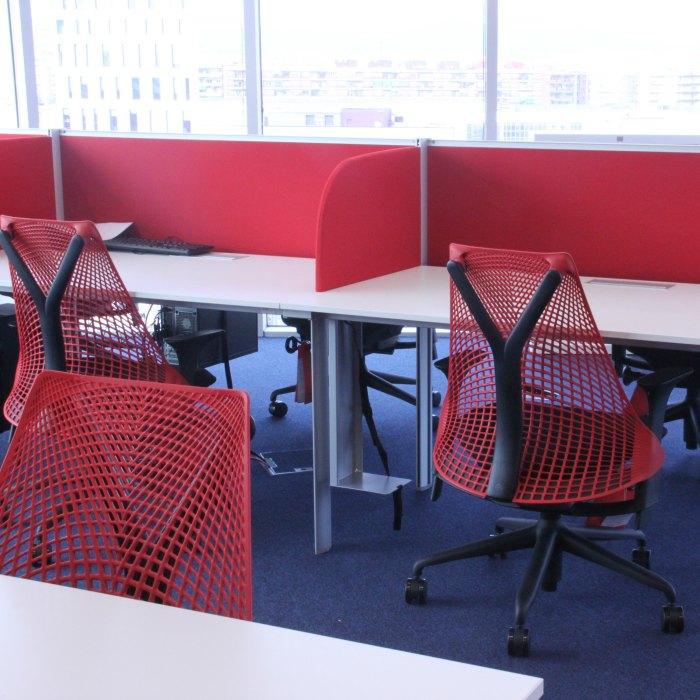 Proyecto llaves en mano Oficinas Raytheon Adeyaka Barcelona proyectos