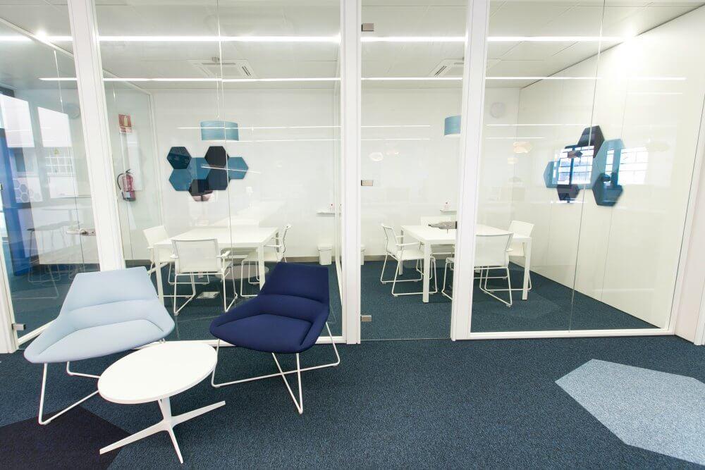 Reformas integrales de Oficinas Accelerate Adeyaka Barcelona