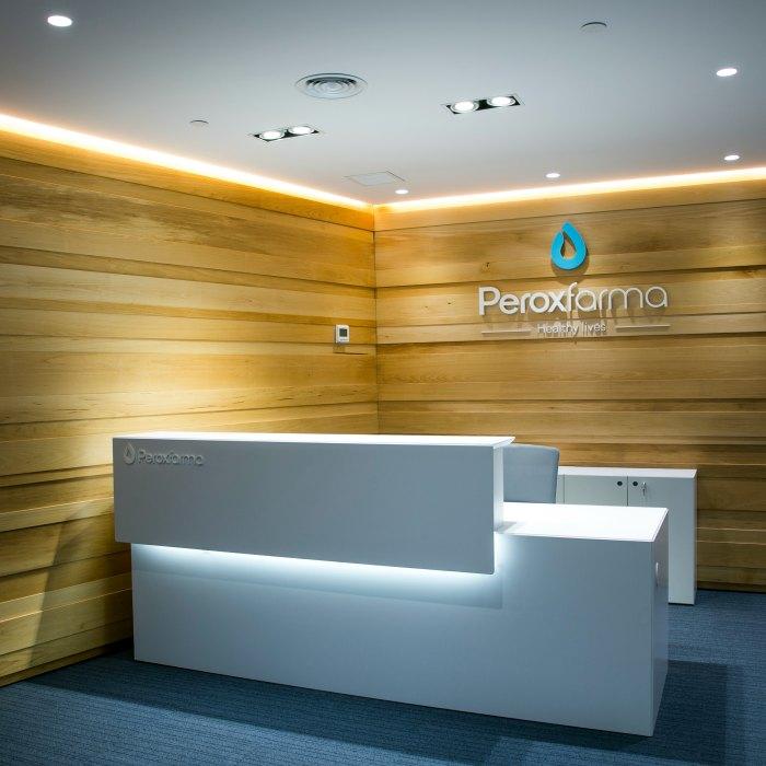 Reformes integrals d'oficines Peroxfarma Adeyaka Barcelona