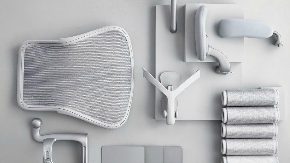 Silla ergonomica Aeron Herman Miller Adeyaka barcelona