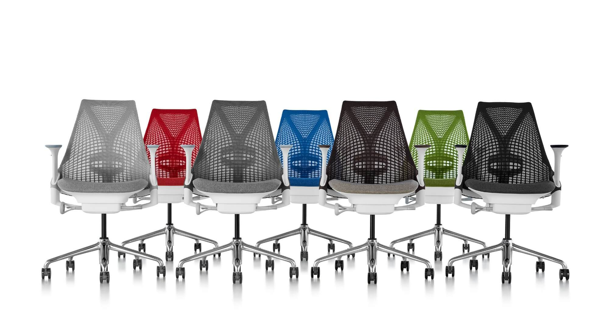 Sillas de oficina ergonomicas herman miller sayl adeyaka for Sillas oficina ergonomicas barcelona