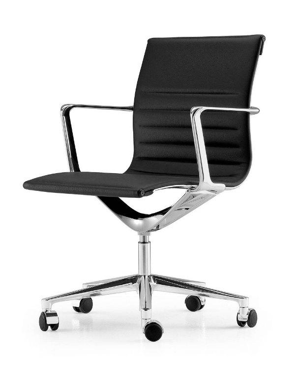 Sillas de oficina reunion, confidentes, colectividades Adeyaka Barcelona ICF Una chair