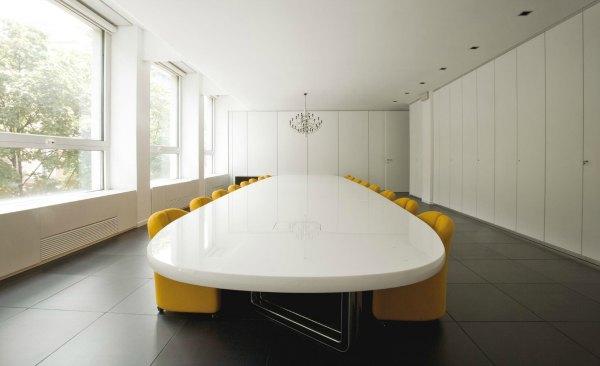 Mesas de juntas y reunión Asymmetrical Tecno Adeyaka Barcelona