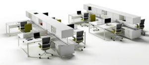 Mobiliario de oficina Barcelona Vital Plus Actiu Adeyaka