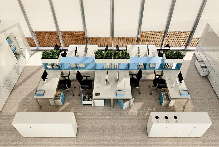 Mobiliario de oficina y archivo Primo Dieffebi Adeyaka Barcelona