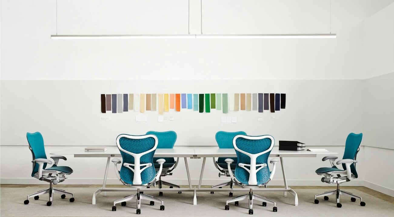 Sillas de oficina ergonomicas herman miller adeyaka for Sillas ergonomicas para oficina