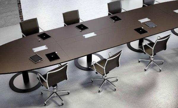 Mesas de juntas y reunión Multipli CEO Fantoni Adeyaka Barcelona