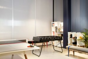 mesas de ping pong para oficina