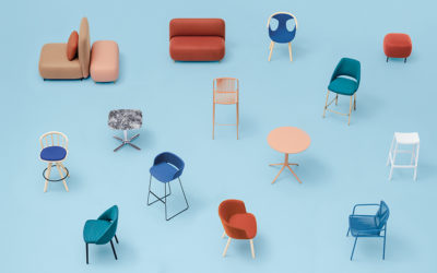 Pedrali; mobiliario contract para oficina