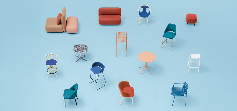 pedrali muebles contract oficina adeyaka bcn