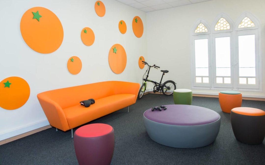 Living office; en la oficina como en casa