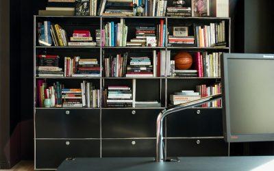 Muebles modulares y un referente