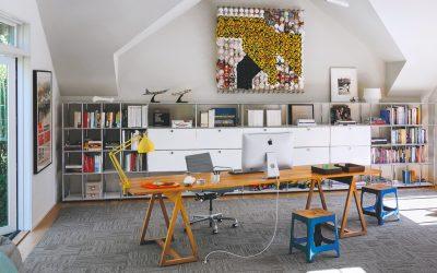 Cómo diseñar la oficina en tu casa